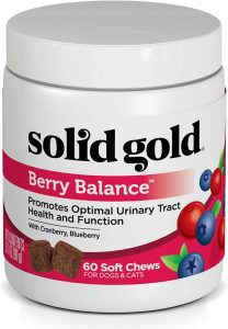 Solid Gold Dog for Urinary Tract Health